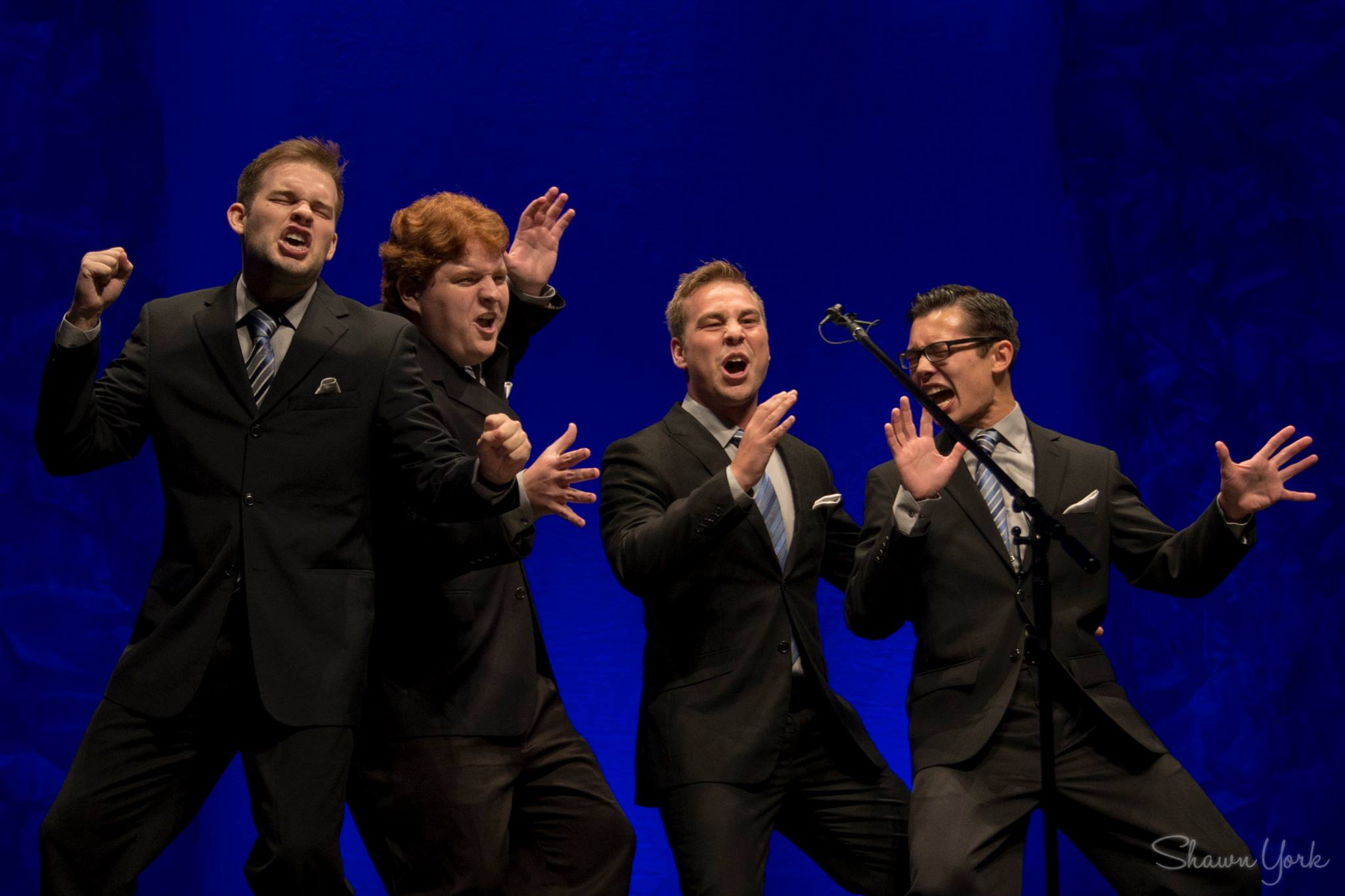The Newfangled Four NF4 Air Canada Centre Shawn York International Collegiate Barbershop Quartet